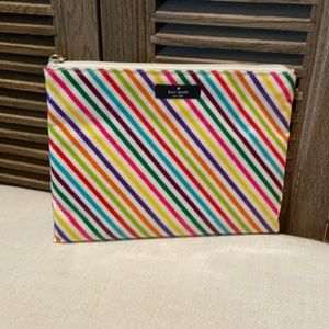 NWT Kate spade large pouch